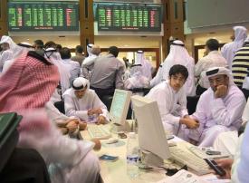 ارتفاع بورصتي دبي وأبوظبي والسعودية تتراجع تحت ضغط البنوك