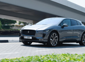 شاهد اختبارات سيارة جاكوار الرياضية ذاتية القيادة في دبي
