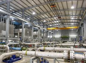 إنجاز صفقة تمويل مشروع إنشاء أكبر محطة لتحلية المياه في الإمارات