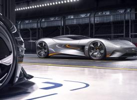 بالصور : Jaguar تكشف عن نموذج سيارة كهربائية جديدة من غران توريزمو