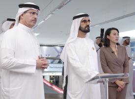 محمد بن راشد يفتتح أربعة مختبرات مستقبلية في منطقة 2071