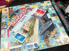 دبي أول مدينة في الشرق الأوسط تمتلك إصدارها الخاص من لعبة «مونوبولي»