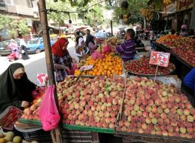 التضخم في المدن المصرية يهبط إلى أدنى مستوى في 9 سنوات
