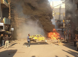 عاجل: 3 انفجارات تهز مدينة القامشلي السورية