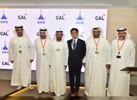 تأسيس أول مركز توزيع إقليمي لقطع غيار الطائرات في أبوظبي