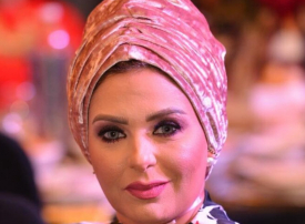 الممثلة المصرية صابرين تتخلى عن الحجاب