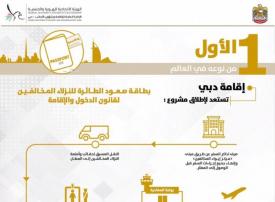 إقامة دبي تستعد لإطلاق مشروع «بطاقة صعود الطائرة» للنزلاء