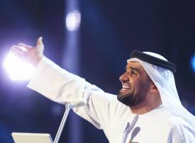 حفل مباشر للنجم حسين الجسمي ضمن الاحتفالات لليوم الوطني الإماراتي
