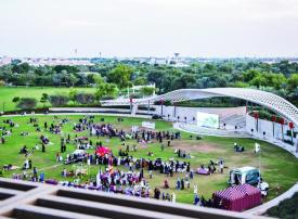 «إرث الأوّلين».. بث مباشر على شاشة ضخمة في حديقة أم الإمارات بأبوظبي