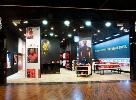 ليفربول يعلن افتتاح أول متجر مستقل للنادي في دبي مول