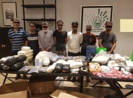 دبي.. ضبط عصابتين دوليتين لتهريب المخدرات في عملية «لسطاح»