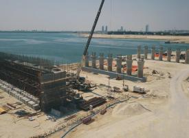 مشروع للبنية التحتية في أبوظبي بتكلفة مليار درهم