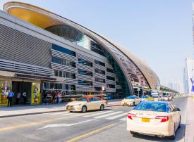 تغطيّة «محطة مترو اتصالات» في دبي بالجيل الخامس