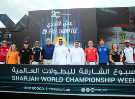 غدا النسخة الـ20 من أسبوع الشارقة للبطولات العالمية المائية في بحيرة خالد