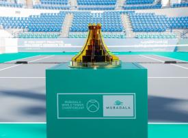 كأس مبادلة العالمية للتنس يستوحي تصميمه من الهندسة المعمارية لأبوظبي