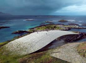 بالصور : متحف النرويج الجديد لمشاهدة الحيتان
