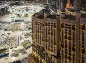 مزاد علني في السعودية لتأجير محلات تجارية بالحرم المكي