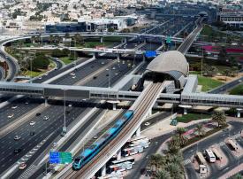 مترو دبي يعمل 24 ساعة ليلة رأس السنة الميلادية