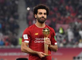 محمد صلاح يحصد جائزة أفضل لاعب في كأس العالم للأندية