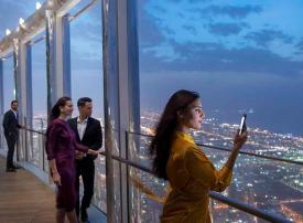 إعمار دبي تبيع امتياز الاستثمار بإحدى منصتي المراقبة في برج خليفة