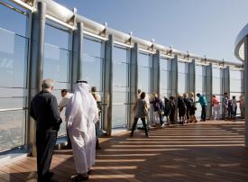 إعمار العقارية توضح حقيقة بيع قمة برج خليفة في دبي