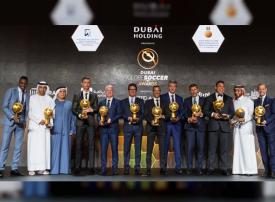 جوائز جلوب سوكر ونجوم كرة القدم يستعرضون تجاربهم الناجحة في دبي