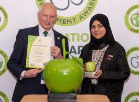«طرق دبي» تحصد جائزة «جرين أبل» لأفضل ممارسة بيئية