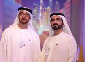 فيديو: محمد بن راشد ومحمد بن زايد يطلقان الهوية الإعلامية المرئية الجديدة للإمارات