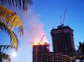 فيديو: حريق برج جدة يشعل الترند السعودي