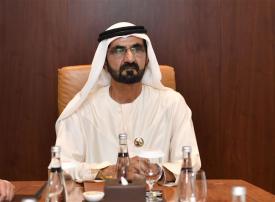 محمد بن راشد يصدر قانون مركز دبي المالي العالمي للإيجارات
