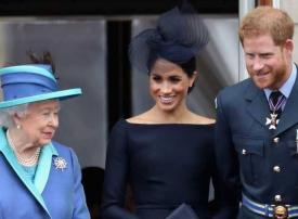 الملكة إليزابيث تحسم قرارها بشأن تخلي هاري وميغان عن مهامهما الملكية