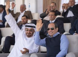 فيديو: محمد بن زايد والرئيس المصري يشهدان فعاليات مهرجان شرم الشيخ التراثي