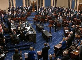 تأجيل محاكمة ترامب ليوم الثلاثاء بعد أداء أعضاء الكونغرس للقسم