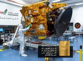 «الإمارات.. لاشيء مستحيل».. الهوية الإعلامية للدولة إلى المريخ