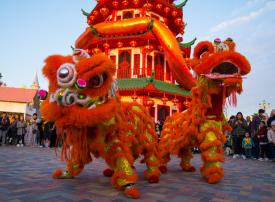القرية العالمية تحتفي برأس السنة الصينية الجديدة بتنظيم باقة من الفعاليات