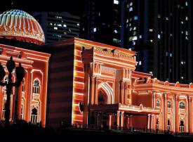 مهرجان أضواء الشارقة يبهر الزوار في 19موقعاً  اعتبارا من 5 فـبراير