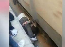 ما حقيقة فيديو الأب المصري الذي أنقذ ابنته من الدهس تحت عجلات القطار؟