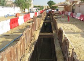 الشارقة: إعفاء مساكن الرمثاء والقوز وكلباء من رسوم توصيل خدمات الصرف الصحي