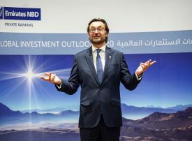الإمارات دبي الوطني يكشف عن توقعاته للاستثمارات العالمية لعام 2020
