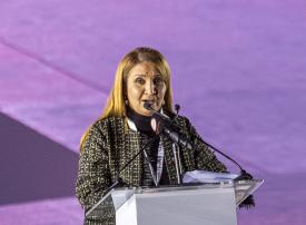 جواهر القاسمي تشهد افتتاح النسخة الخامسة لـ عربية السيدات 2020