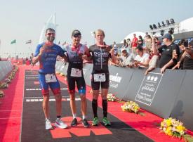 بالصور : مسابقة الرجل الحديدي في دبي