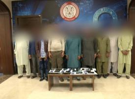 بالفيديو.. ضبط 13 عصابة متهم فيها 142 شخصا بالنصب الهاتفي في أبوظبي