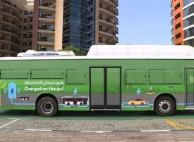تدشين التشغيل التجريبي لشحن المركبات والحافلات في دبي للسيليكون