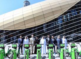 إطلاق خدمة تأجير الدراجات الهوائية في دبي