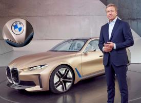 شاهد شعار بي إم دبليو الجديد لسيارتها الكهربائية