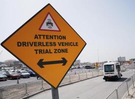 طرق دبي تشغّل تجريبياً المركبة ذاتية القيادة في موقع إكسبو 2020