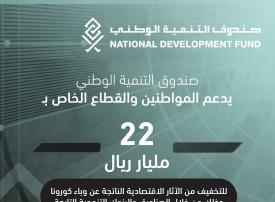 صندوق التنمية الوطني السعودي يخصص 22 مليار ريال لدعم القطاع الخاص
