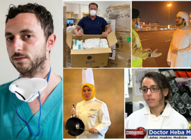 شاهد لقطات مشرّفة لشخصيات تبادر بجهود طيبة في احتواء أزمة وباء كورونا المستجد