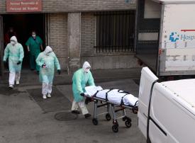 ارتفاع معدل وفيات كورونا في إسبانيا