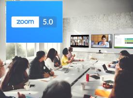 زووم لمكالمات الفيديو تقدم تحسينات أمنية للإصدار 5
